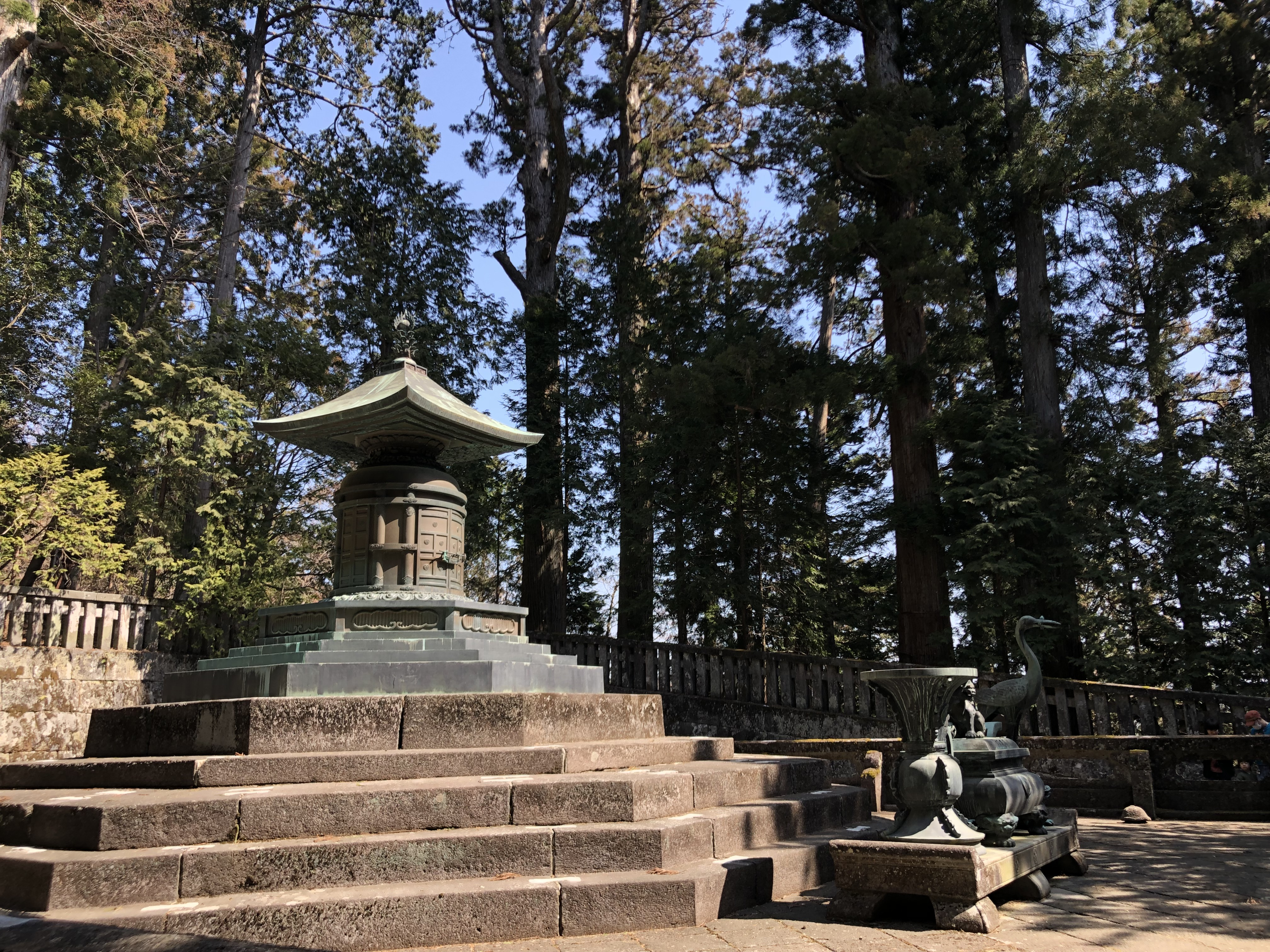 Tombeau de Tokugawa Ieyasu